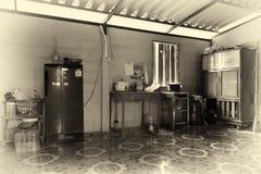 Vintage style Thai kitchen Royalty Free Stock Photography