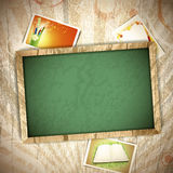 Vintage education background Royalty Free Stock Photography