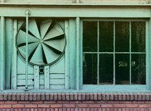 Vintage Effect Warehouse Fan Stock Photography