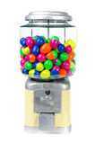 Vintage Eggs Slot Machine on White Background Stock Images