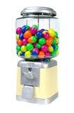 Vintage Eggs Slot Machine on White Background Stock Photos