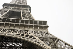 Vintage Eiffel tower Paris, France. Background stock photography