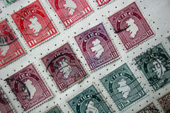 Vintage Eire stamp Royalty Free Stock Photography