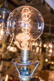 Vintage electric carbon light Royalty Free Stock Photography