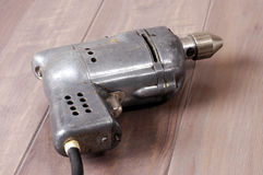 Vintage electric drill 1 Royalty Free Stock Photos