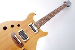 Vintage electric guitar Stock Images