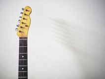 Vintage electric guitar Royalty Free Stock Photo