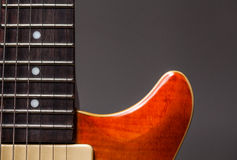 Vintage electric guitar Stock Photos