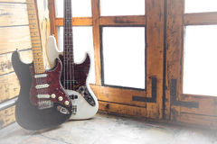 Vintage Electric guitars Stock Image