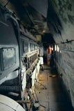 Vintage Electric Locomotive Interior Royalty Free Stock Photo