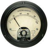Vintage Meter Royalty Free Stock Photo