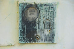 Vintage electrical box Royalty Free Stock Photography