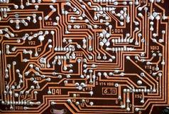Vintage electronic board Stock Image