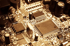 Vintage electronics Royalty Free Stock Photography
