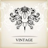 Vintage elegant background for invitations Royalty Free Stock Image