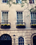 Vintage Elegant Facade Royalty Free Stock Photography