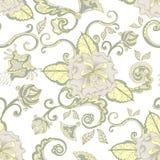 Vintage elegant floral pattern background Stock Photo
