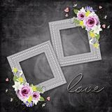 Vintage elegant frame Royalty Free Stock Images