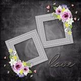 Vintage elegant frame Royalty Free Stock Images