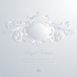 Vintage elegant greeting card & Wedding invitation Royalty Free Stock Photography