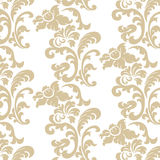Vintage elegant lily flower ornament pattern Royalty Free Stock Photo