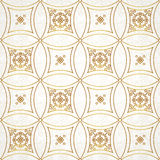 Vintage element for design in Eastern style. Stock Image