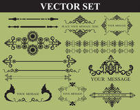 Vintage element and page decoration Stock Images