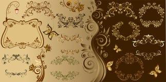 Vintage elements for design Royalty Free Stock Images