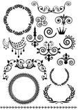 Vintage elements. Illustration design style Stock Image