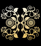 Vintage elements. Illustration design style Royalty Free Stock Photography