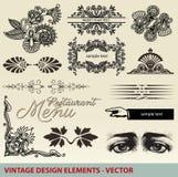 Vintage, elements, ornaments, design -  Stock Photos