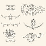 Vintage elements Royalty Free Stock Images