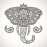 Vintage elephant Stock Photos