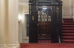 Vintage Elevator Royalty Free Stock Photography