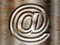 Vintage email Stock Images