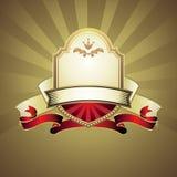 Vintage emblem Stock Image