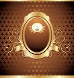 Vintage emblem. Royalty Free Stock Photo