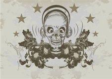 Vintage emblem Stock Photo