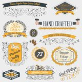 Vintage emblems and labels Royalty Free Stock Photo