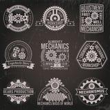 Vintage emblems Stock Photo