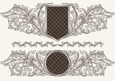 Vintage emblems Royalty Free Stock Photo