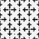 Vintage embroidery seamless pattern Stock Photo