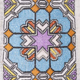 Vintage Embroidery Textile Design Royalty Free Stock Images
