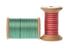 Vintage Embroidery Threads Royalty Free Stock Photo