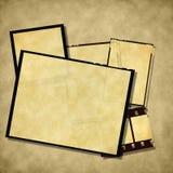 Vintage Empty Photo Frames Royalty Free Stock Photo