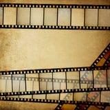 Vintage empy positive films. stock illustration