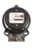 Vintage energy meter Stock Photos