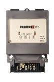Vintage energy meter Stock Image