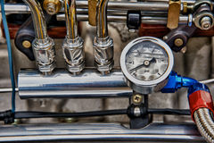 Vintage engine detail Royalty Free Stock Photo