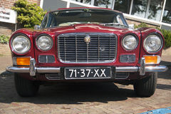 Vintage english car Stock Image